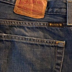 Mens lucky brand boot cut size 38/32